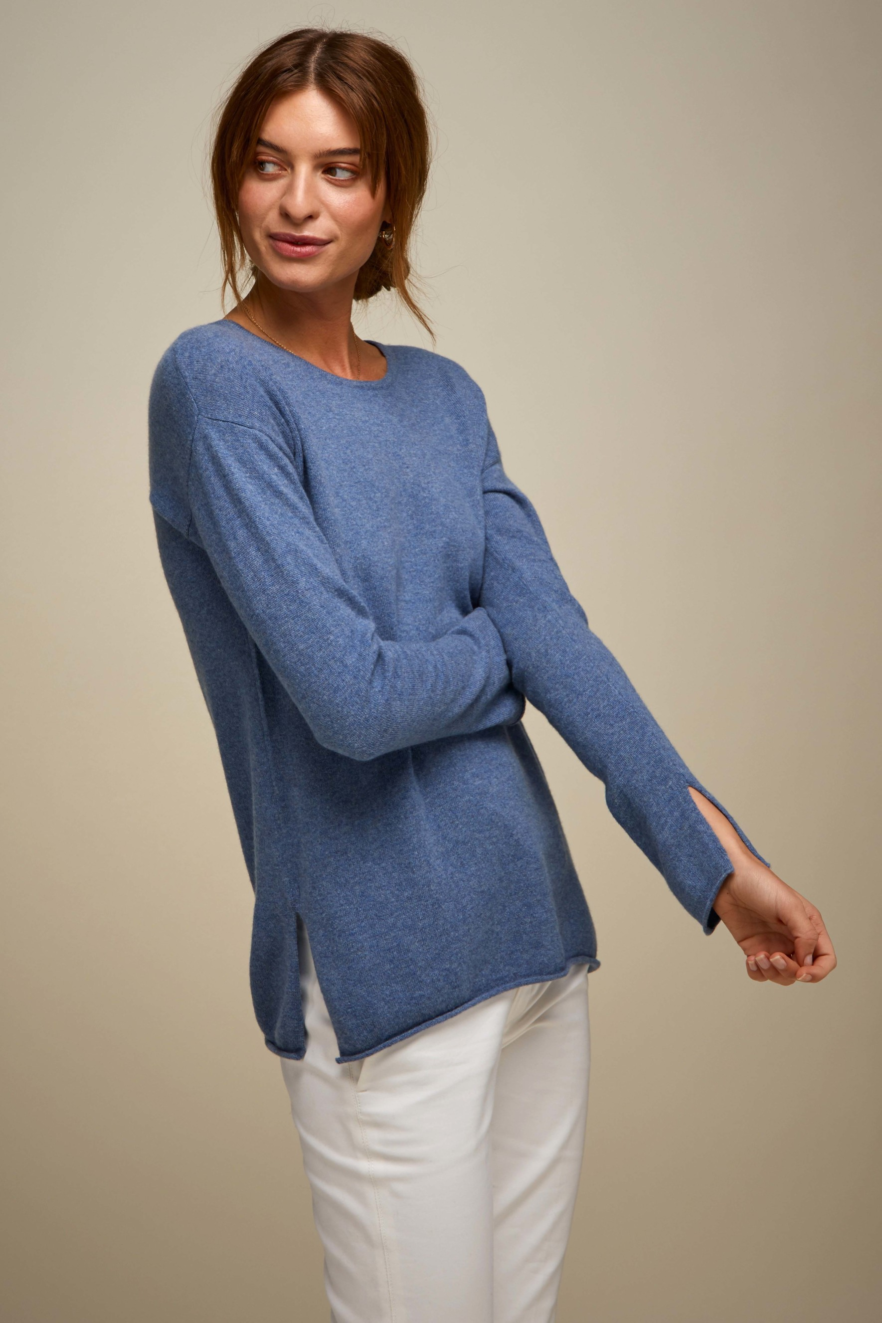 O-neck Long Sweater