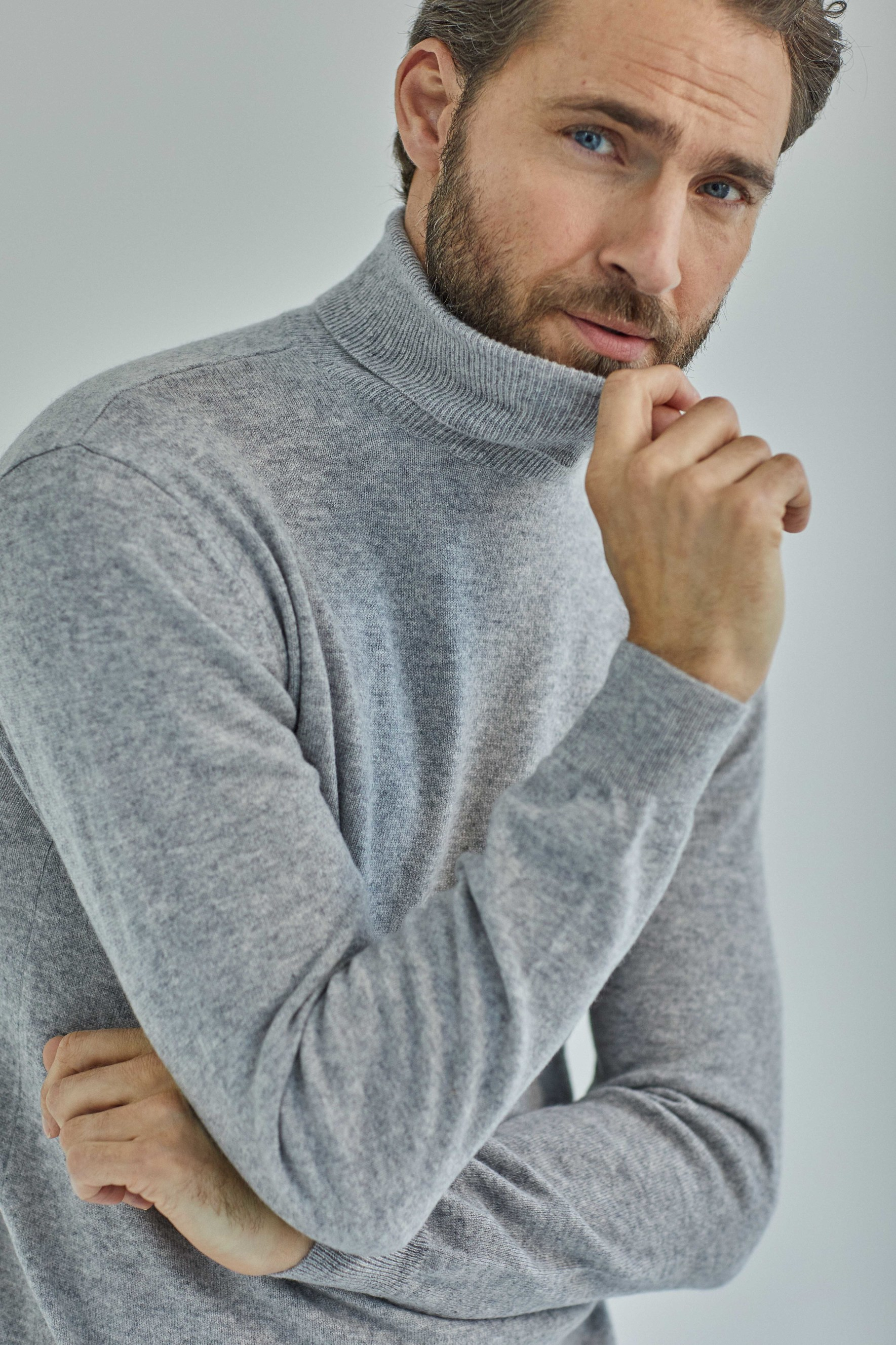 Man Turtleneck
